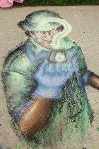 student chalk art1