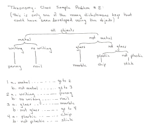 Taxonomy sample